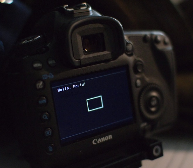 5D Mark III - Magic Lantern hack