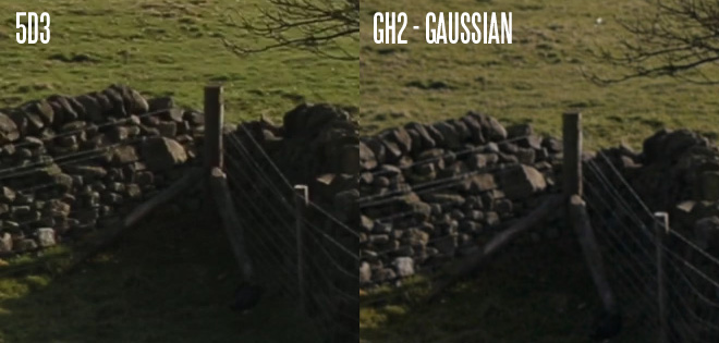 5D Mark III vs GH2 - gaussian blur