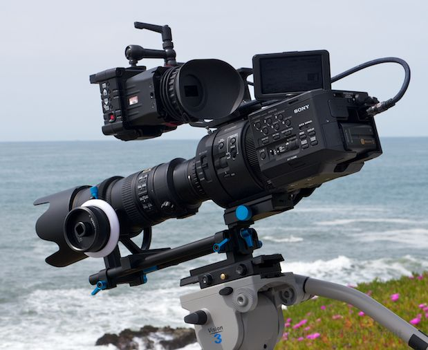 The new Sony NEX FS700