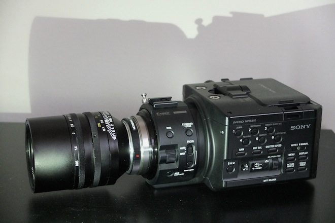 Sony NEX FS100 NXCAM