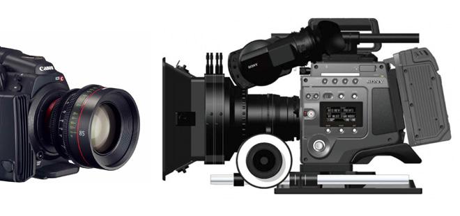 C500 vs Sony F65