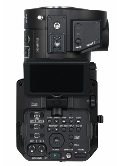 Sony FS700 top plate