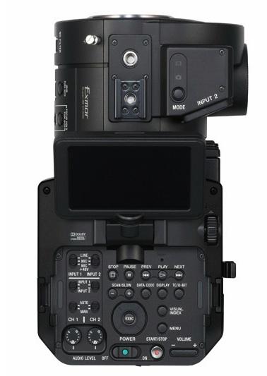 Sony FS700 top plate