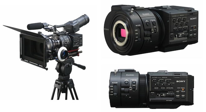 Sony NEX FS700 4K ready digital cinema camera