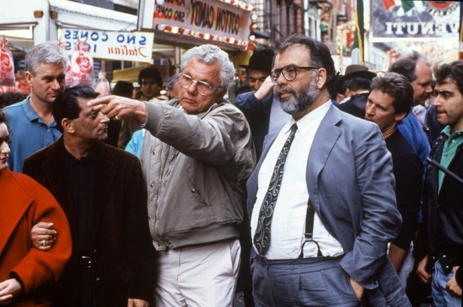 Coppola Godfather BTS
