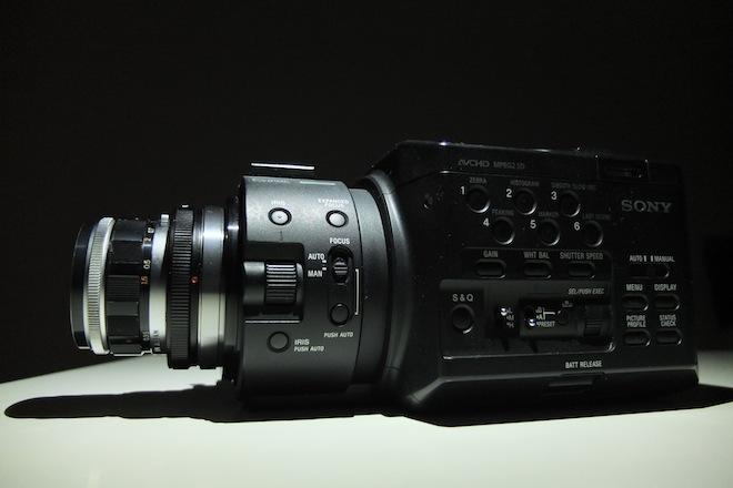 Olympus 38mm F1.8 PEN-F on FS100