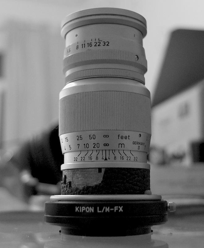 Leica M Elmar 90mm F4