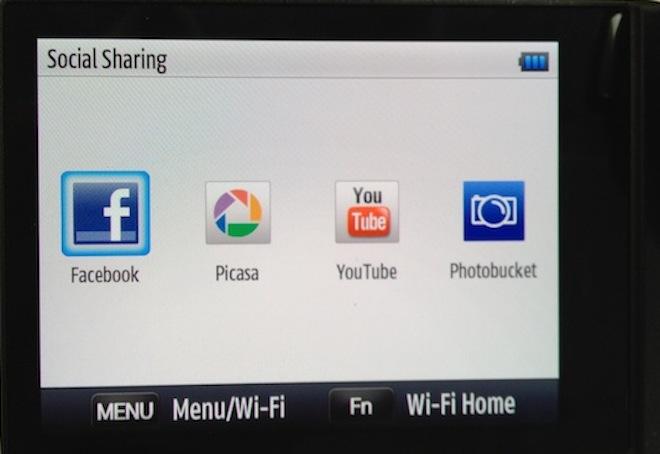 NX20 social sharing