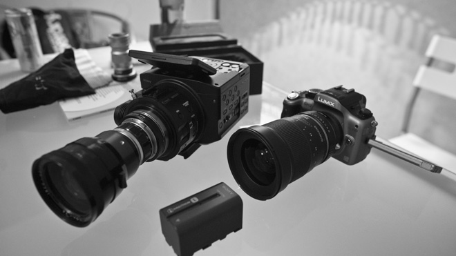 FS100 and GH2