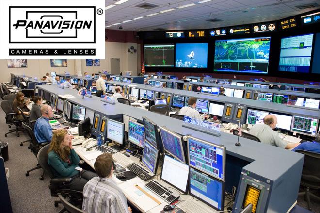 The JPL control room