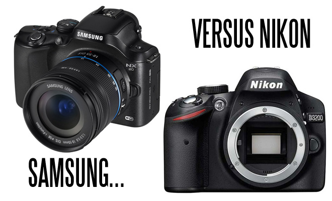 Samsung NX20 vs Nikon D3200