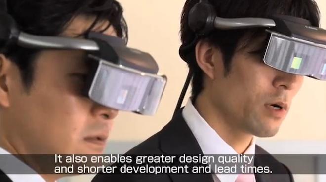 Canon - mixed reality system