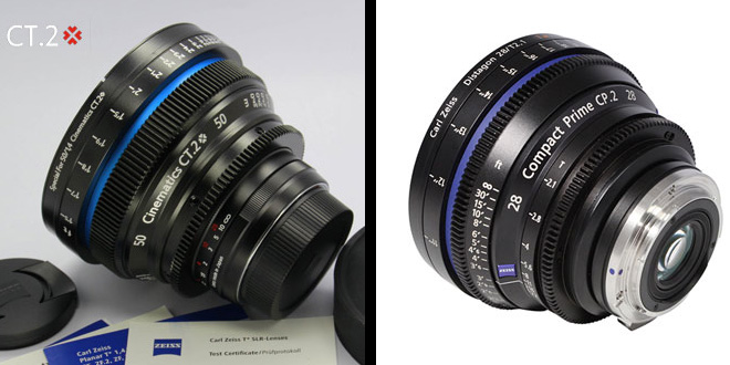 Cinematics Zeiss ZE Compact Prime CT.2