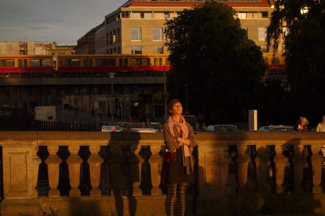 Magic hour outside the Bode Museum