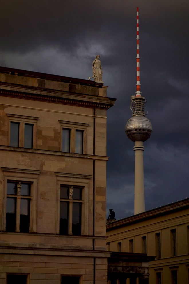 TV Tower as seen from Museum Island