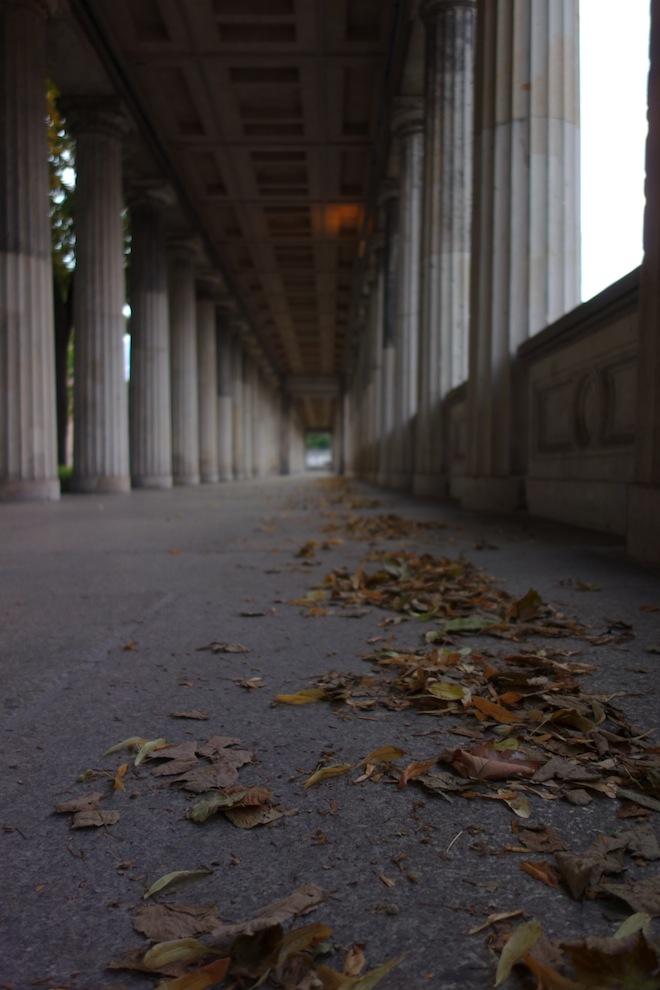 Berlin Museum Island corridor shot on the RX100
