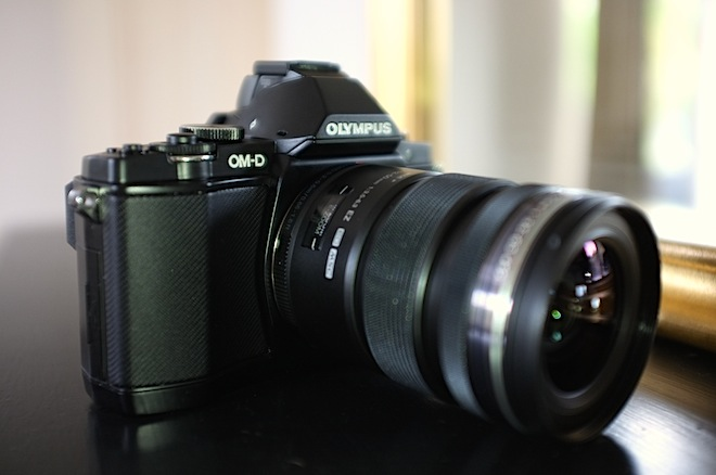 OM-D E-M5 with 12-50mm