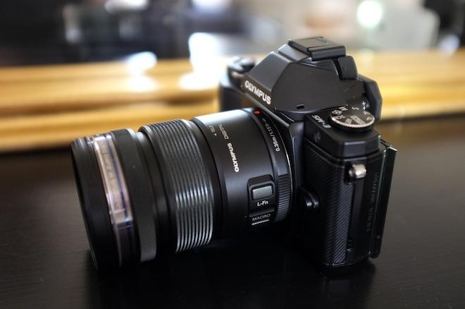 OM-D with 12-50mm kit lens
