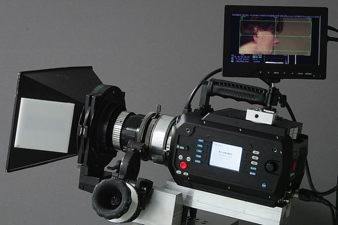 KineRAW S35 with Mitchell follow focus - OCT-19 150mm Konvas cinema lens
