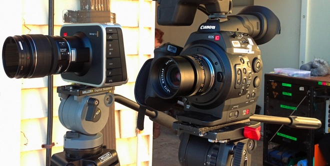 Blackmagic vs C300
