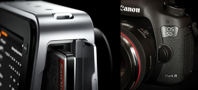 Blackmagic Cinema Camera vs 5D Mark III
