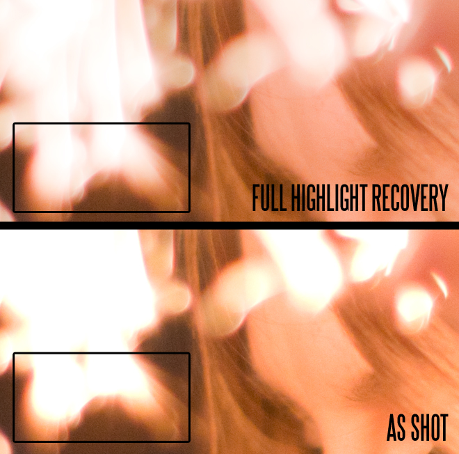Highlight recovery
