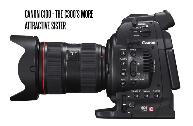 Canon C100 Cinema EOS