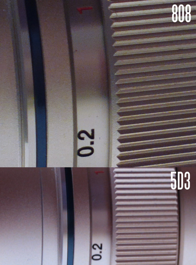 808 PureView vs 5D Mark III