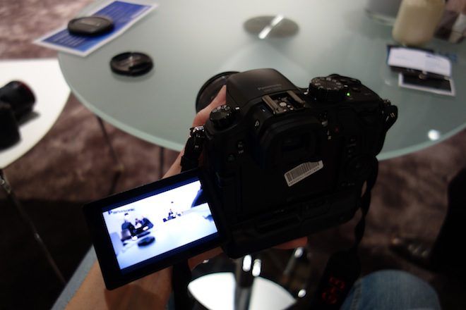 Panasonic GH3 hands-on