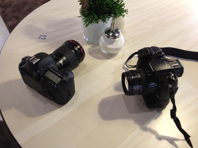 GH3 meets 5D Mark 3