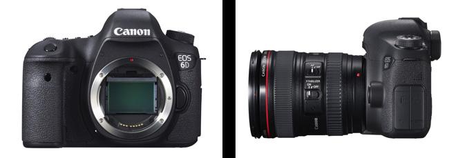 Canon 6D full frame DSLR