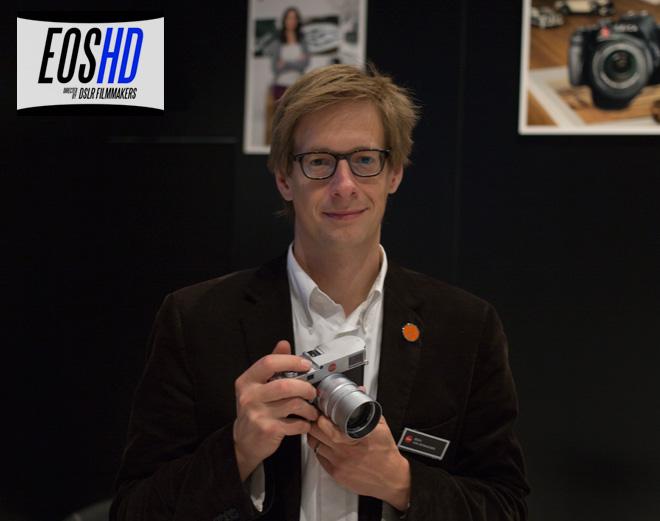 Leica M product manager - Jesko Von Oeynhausen