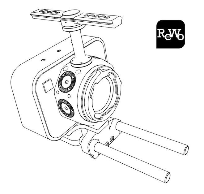 ReWo Blackmagic MFT version interchangeable mount cage