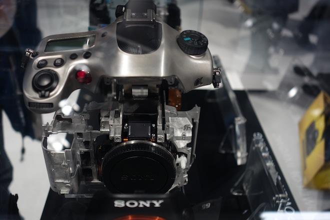 Sony A99 at Photokina 2012