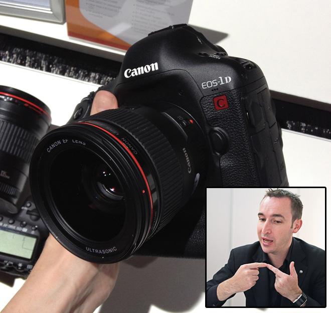 Canon 1D C at Photokina 2012