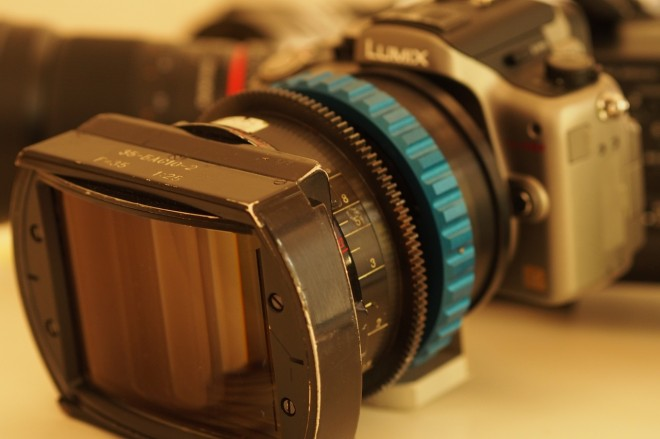 LOMO OCT-19 Anamorphic on the GH2