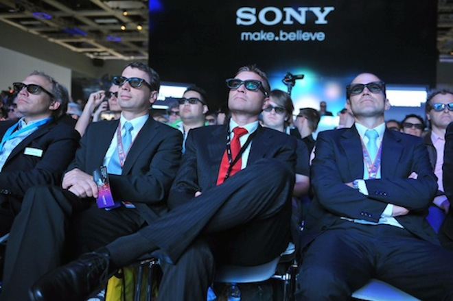 Sony 3D at the IFA show