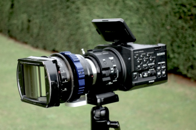 Sony FS100 and LOMO 35mm Anamorphic
