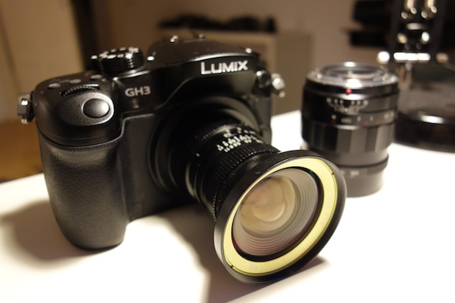 Panasonic GH3 and SLR Magic 12mm F1.6