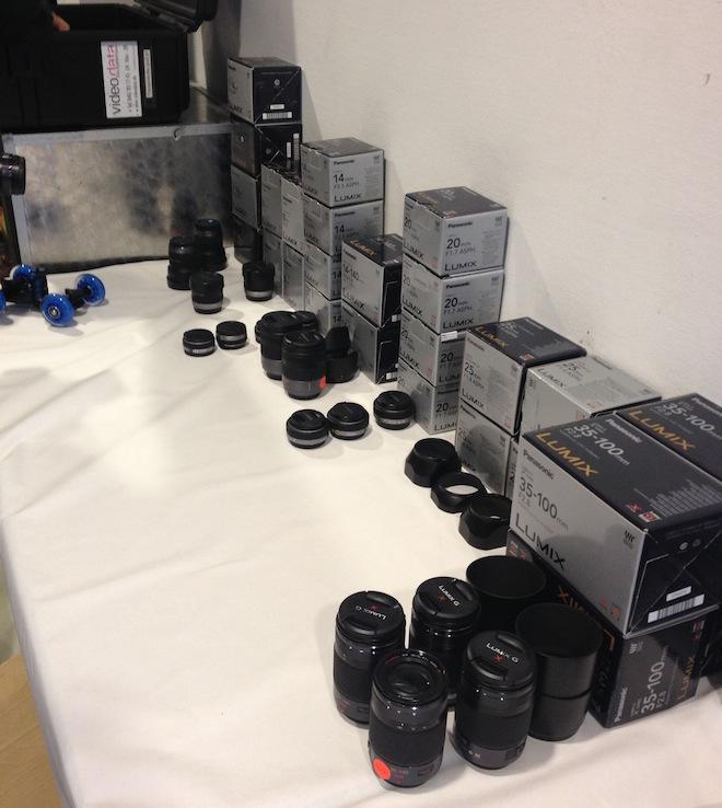 Lumix lens range 2012