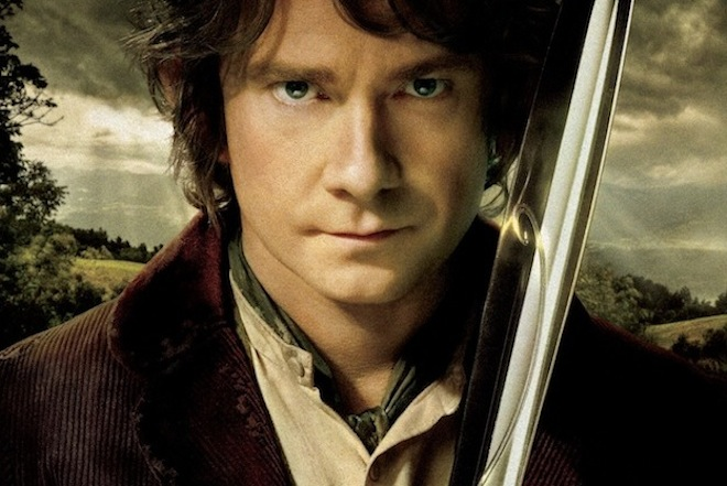 The Hobbit with that bloke from The Office
