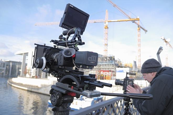 Ikonoskop A-Cam dll and Blackmagic Cinema Camera