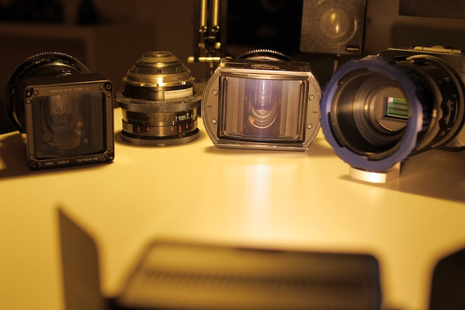 OCT-19 anamorphic and aspherical on the FS100