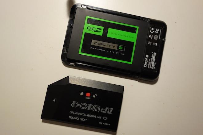 Blackmagic third party SSD and Ikonoskop memory card