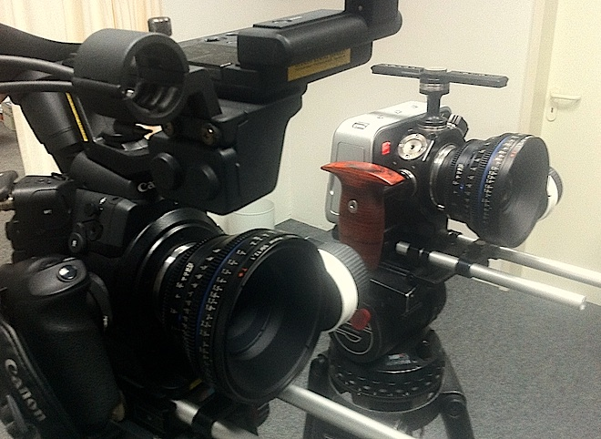 Canon C300 vs Blackmagic Cinema Camera