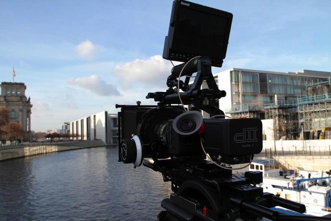 Ikonoskop A-cam with Marshall monitor