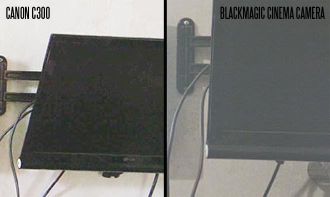 Slashcam C300 / Blackmagic comparison