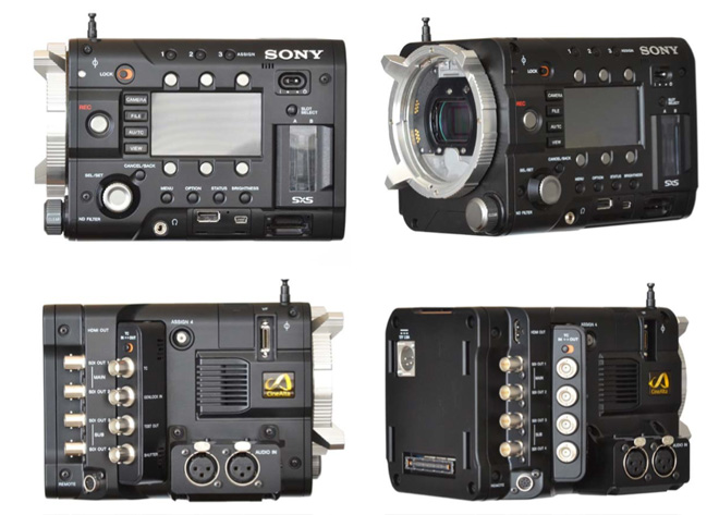 Sony F55 360 degree view