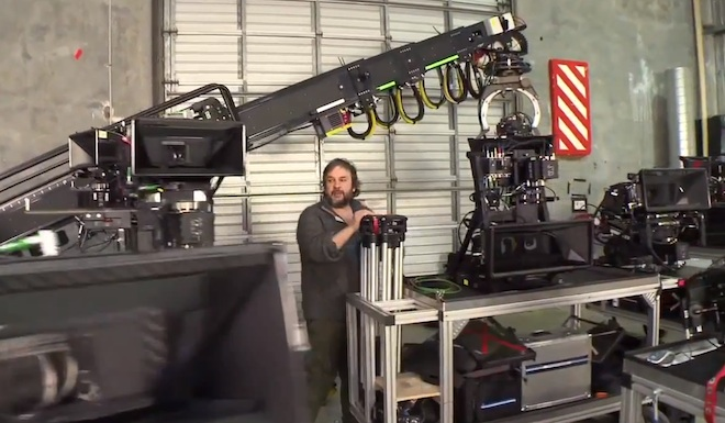 Peter Jackson - The Hobbit - Camera department