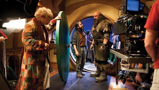 The Hobbit - behind the scenes